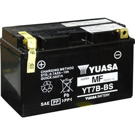 YUASA 湯淺 YT7B-BS 機車電瓶/電池 正廠零件(台灣山葉)★全館免運費★『電力中心-Yahoo!館』