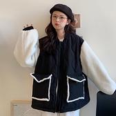 快速出貨 外套羊羔毛外套女百搭加厚棉服韓版寬鬆棉衣矮個子上衣【2021新年鉅惠】