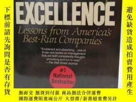 二手書博民逛書店In罕見Search of Excellence: Lesson