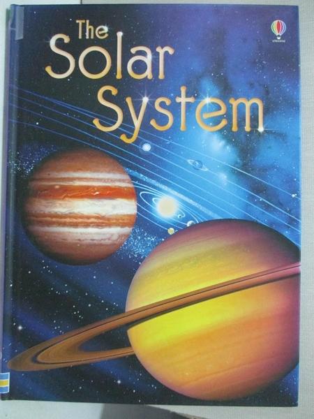 【書寶二手書T1/少年童書_AC9】The Solar System_Bone, Emily/ Pastor