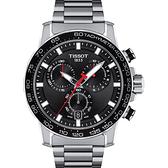 TISSOT天梭 Supersport 計時手錶-45.5mm(T1256171105100)