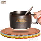 6片裝杯墊硅膠碗墊餐桌盤隔熱墊創意杯子墊北歐家用茶杯墊防燙墊 東京衣秀