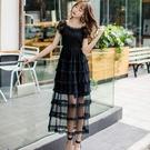 夏 蛋糕 洋裝蛋糕層次嫵媚宴會party洋裝 [98789-QF]美之札-森女系 洋裝