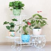歐式鐵藝多層花架落地式綠蘿吊蘭花架子陽臺客廳室內花盆架