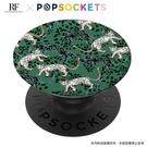 叢林美洲豹【R&F聯名 PopSockets 泡泡騷二代 PopGrip】 美國 No.1 時尚手機支架