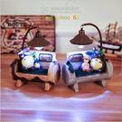 龍貓小黃人小夜燈擺件 創意少女心海賊王路飛喬巴男女生生日禮物 YL-DX114