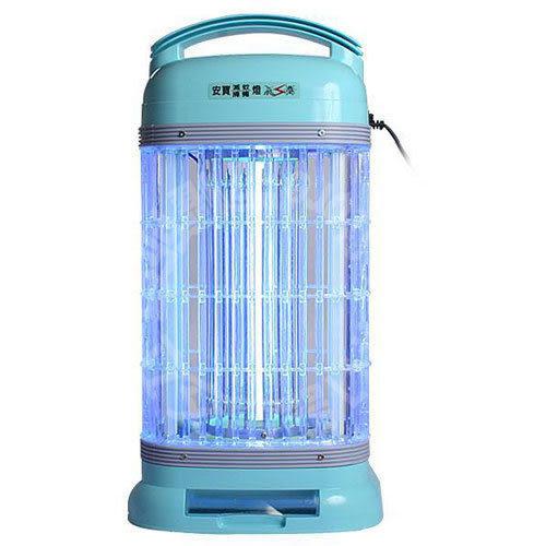 【艾來家電】【刷卡分期零利率+免運費】安寶 (AB-9100A) 15W靜音型捕蚊燈