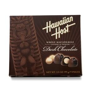賀氏夏威夷豆巧克力 黑巧克力
