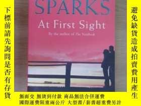 二手書博民逛書店英文書罕見SPARKS At First Sight 共342頁