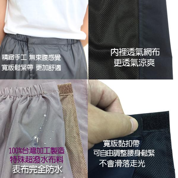 雙層防曬裙超撥水防走光/灰