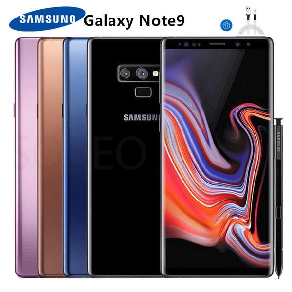 全新未拆Samsung Galaxy Note9 6G/128G N960U 高通核心 超久保固18個月 促銷送藍牙
