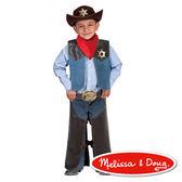 美國瑪莉莎 Melissa & Doug 角色扮演 - 牛仔服遊戲組