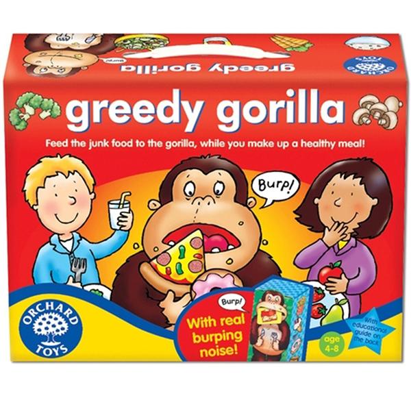 【英國 Orchard Toys】兒童桌遊-認知遊戲 貪吃大猩猩 OT-041 GREEDY GORILLA