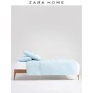 Zara Home KIDS系列藍色北歐兒童絨球刺繡單人枕枕套 47388091400 蘑菇街