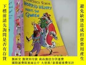 二手書博民逛書店HORRID罕見HENRY MEETS THE QUEEN : 可怕的亨利遇見了女王、Y200392