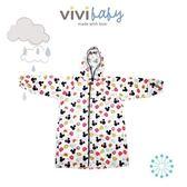 ☆愛兒麗☆【ViVibaby】迪士尼輕量幼兒雨衣(長版)-米奇款L