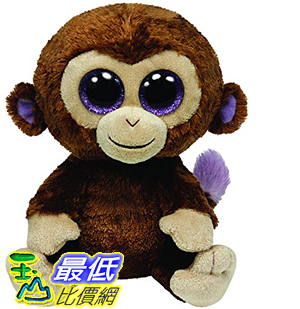 [107美國直購] Ty Beanie Boos Coconut - Monkey