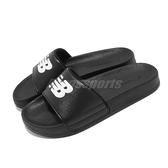 New Balance 涼拖鞋 NB SD1101 黑 白 女鞋 男鞋 基本款 運動拖鞋 拖鞋【ACS】 SD1101GBKM