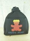 【震撼精品百貨】泰迪熊_Happy Bear~後背包『黑色』