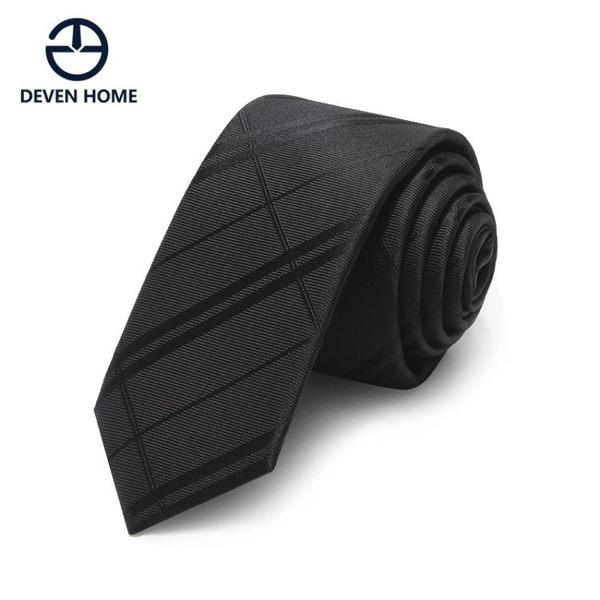 休閒男韓版窄版條紋格子個性小領帶潮LYH4088【大尺碼女王】