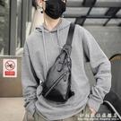 2020新款男士胸包 潮酷風范小包 爆款潮流時尚單肩包後背包潮包 科炫數位
