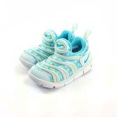 小童NIKE DYNAMO FREE輕量毛毛蟲鞋運動鞋 學步鞋 《7+1童鞋》 E855 水色
