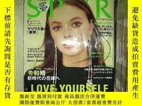 二手書博民逛書店SPUR罕見2019 6Y203004