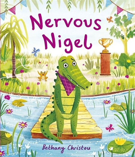 Nervous Nigel 緊張的奈傑爾平裝繪本