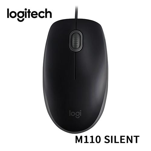 Logitech 羅技 M110S M110 SILENT 靜音滑鼠