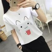 港味chic短袖t恤女夏裝韓版