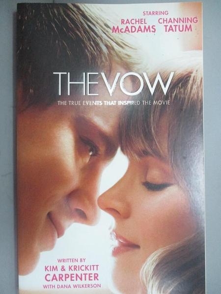 【書寶二手書T1/宗教_GSS】The Vow: The True Events That Inspired the…