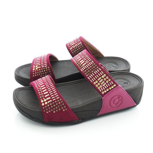 女拖鞋 輕量時尚亮片厚底拖鞋 CD-0128