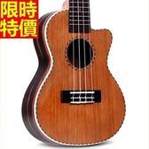 烏克麗麗ukulele-23吋紅松木單板四弦琴樂器2款69x38[時尚巴黎]