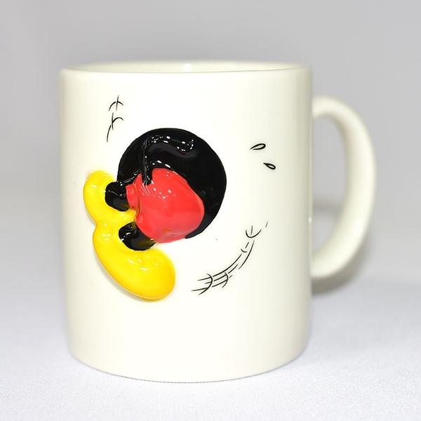 日本正版 米奇發生什麼事 陶瓷馬克杯 320ml