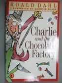 【書寶二手書T9/原文小說_KEY】Charlie and the Chocolate Factory_Dahl, Ro