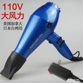 新品秒殺吹風機110v伏出國用日本美國加拿大台灣用風筒大功率負離子電吹風