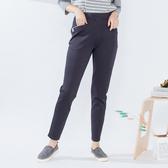 【衣大樂事】MIT雙色剪接袋口奈米褲