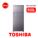 含基本安裝 TOSHIBA 東芝 GR-A55TBZ 510L 雙門變頻電冰箱 典雅金 公司貨