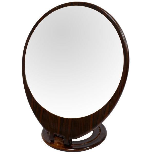 黑檀紋 中圓桌鏡 (BB-463)