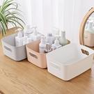 雜物收納筐桌面塑料收納盒家用整理盒子【櫻田川島】