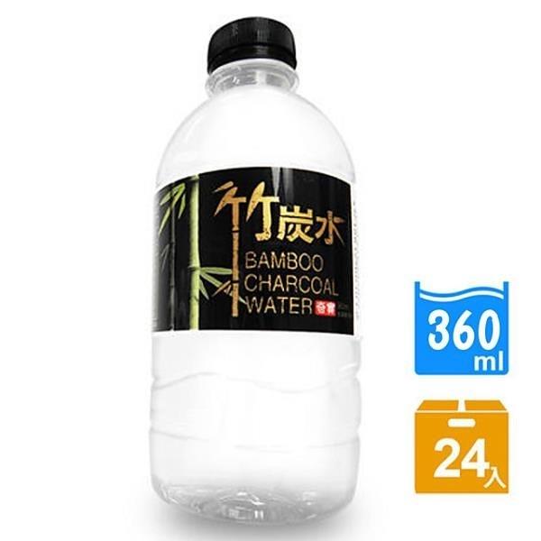 【南紡購物中心】【奇寶】竹炭水360ml(24瓶x2箱)
