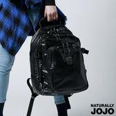 NATURALLY JOJO  Y-P軍風多層後背包