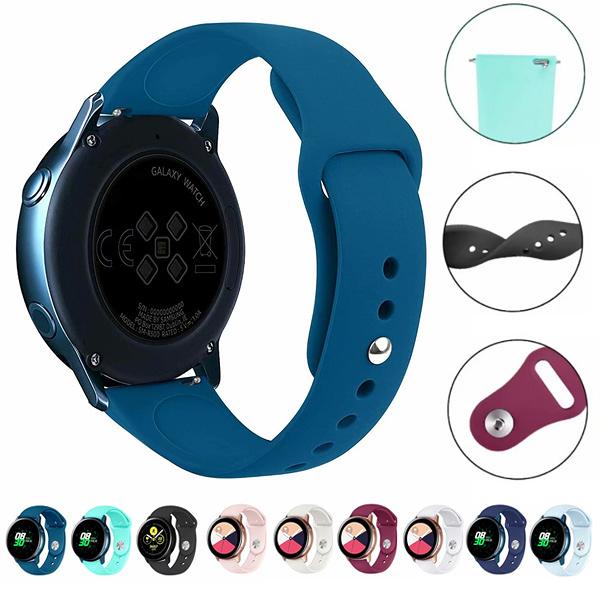 三星 Galaxy Watch Active 軟矽膠錶帶 三星錶帶 矽膠錶帶 運動錶帶