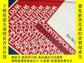二手書博民逛書店CONTEMPORARY罕見WRITING Process & PracticeY16186 Jim W. C