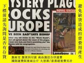 二手書博民逛書店MYSTERY罕見PLAGUE ROCKS EUROPEY5919 USBORNE USBORNE