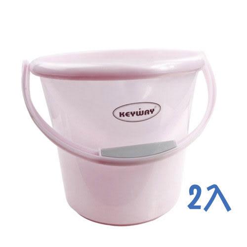 《KEYWAY》威尼斯水桶10L-2入組