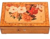 藝術大師鋼琴漆首飾盒實木質手錶盒珠寶收藏收納盒箱 歐亞時尚