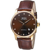 MIDO美度錶 BARONCELLI II耀眼時光腕錶    M86003648