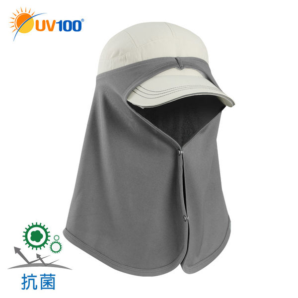 快速出貨 UV100 抗UV 多功能防曬護頸布-造型排釦
