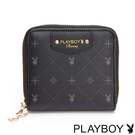 PLAYBOY- 零錢夾 Black Beauty 黑晶兔系列-明星黑